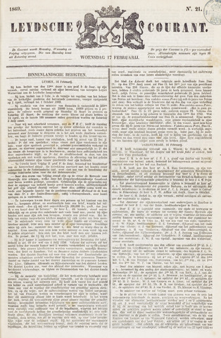 Leydse Courant 1869-02-17