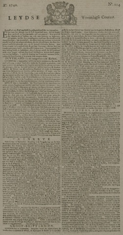 Leydse Courant 1740-09-21