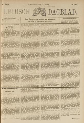 Leidsch Dagblad 1893-03-28