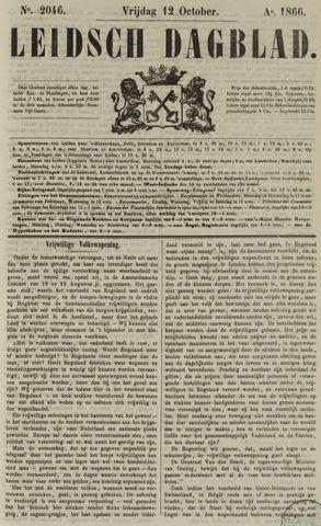 Leidsch Dagblad 1866-10-12