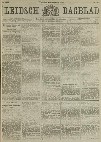 Leidsch Dagblad 1911-09-15