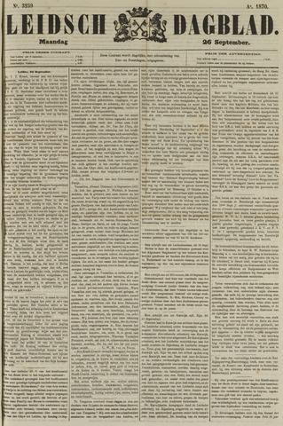 Leidsch Dagblad 1870-09-26
