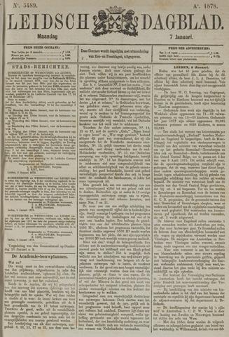 Leidsch Dagblad 1878-01-07