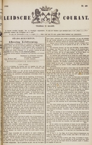Leydse Courant 1884-03-21
