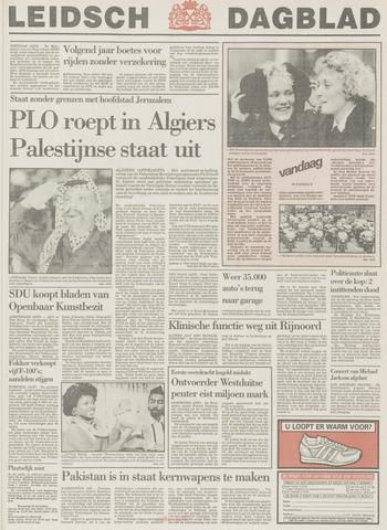 Leidsch Dagblad 1988-11-15