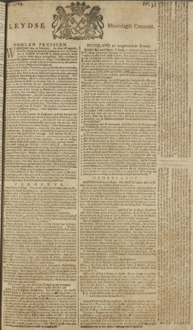 Leydse Courant 1769-03-13