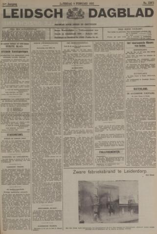 Leidsch Dagblad 1935-02-09