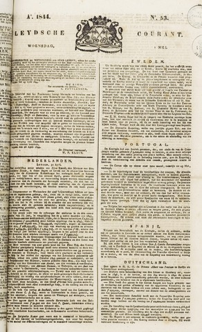 Leydse Courant 1844-05-01