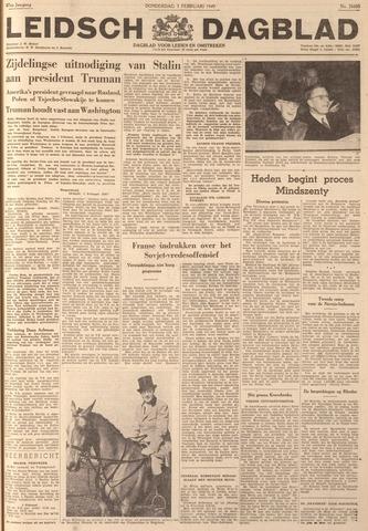 Leidsch Dagblad 1949-02-03