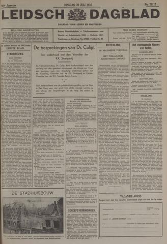 Leidsch Dagblad 1935-07-30