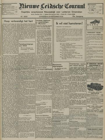 Nieuwe Leidsche Courant 1938-09-29