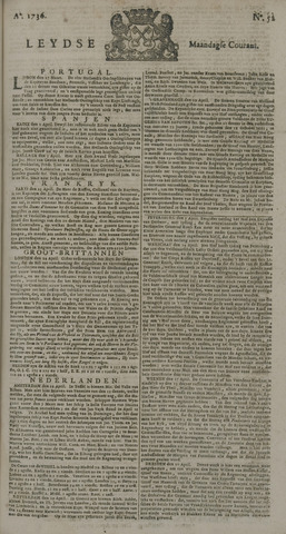 Leydse Courant 1736-04-30