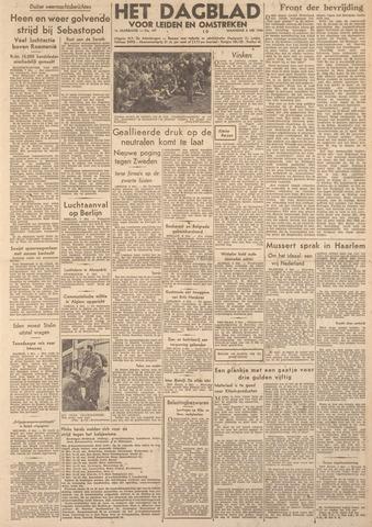 Dagblad voor Leiden en Omstreken 1944-05-08