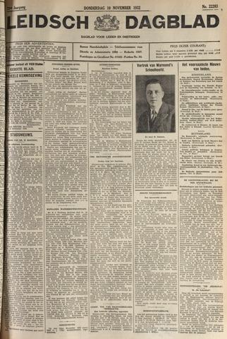 Leidsch Dagblad 1932-11-10