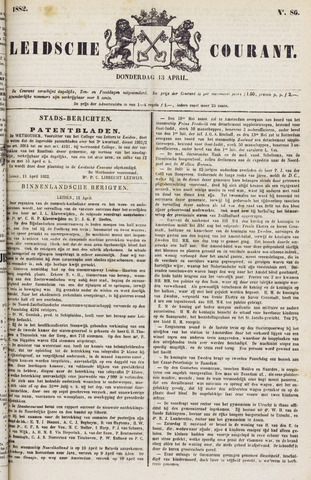 Leydse Courant 1882-04-13
