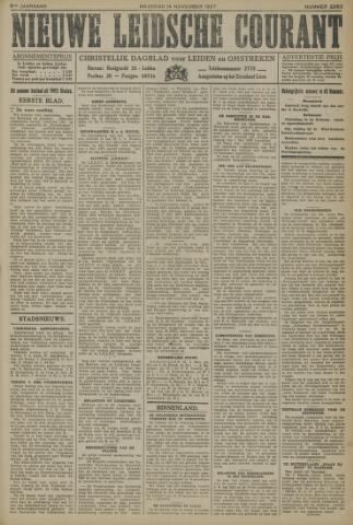 Nieuwe Leidsche Courant 1927-11-14