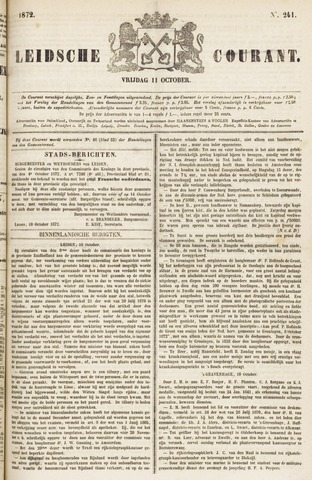 Leydse Courant 1872-10-11