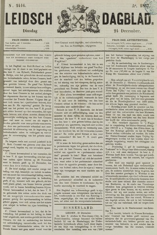 Leidsch Dagblad 1867-12-24