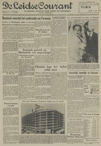 Leidse Courant 1955-02-14