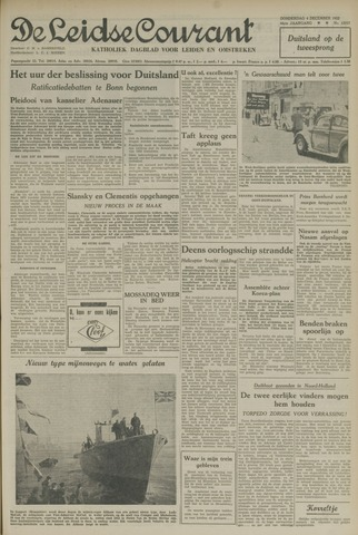 Leidse Courant 1952-12-04