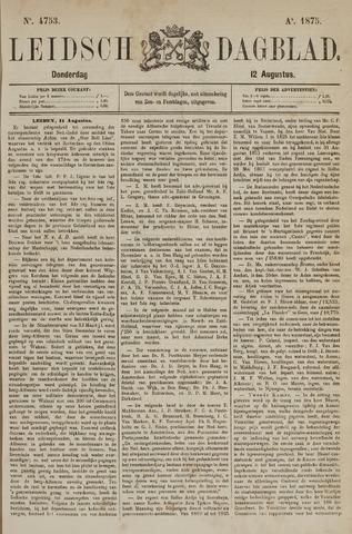 Leidsch Dagblad 1875-08-12
