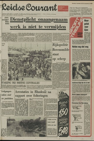 Leidse Courant 1977-09-05