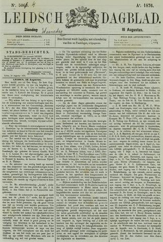 Leidsch Dagblad 1876-08-16