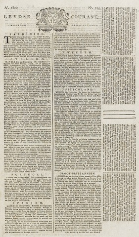 Leydse Courant 1820-10-16