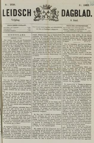 Leidsch Dagblad 1869-06-04