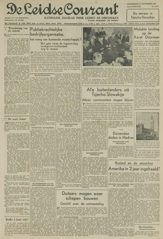 Leidse Courant 1949-11-17