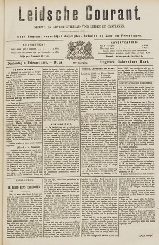 Leydse Courant 1887-02-03