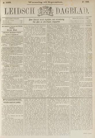 Leidsch Dagblad 1892-09-28