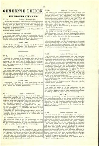 Handelingen van de Raad 1944-02-03
