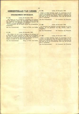 Handelingen van de Raad 1903-12-24