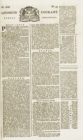 Leydse Courant 1826-08-18