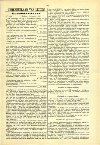 Handelingen van de Raad 1930-09-08