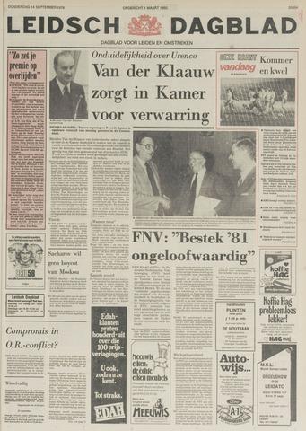 Leidsch Dagblad 1978-09-14
