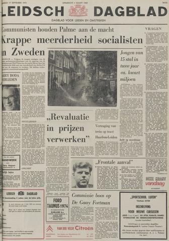 Leidsch Dagblad 1973-09-17