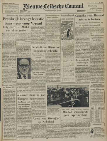 Nieuwe Leidsche Courant 1957-05-16