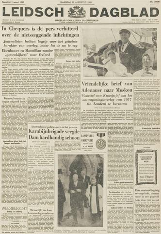 Leidsch Dagblad 1959-08-31