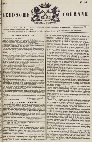 Leydse Courant 1884-10-09