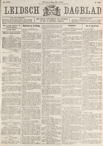 Leidsch Dagblad 1915-07-21