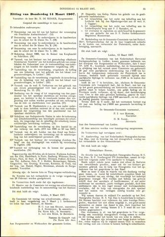 Handelingen van de Raad 1907-03-14