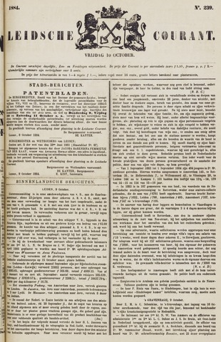 Leydse Courant 1884-10-10