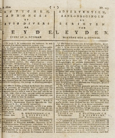 Leydse Courant 1812-10-12