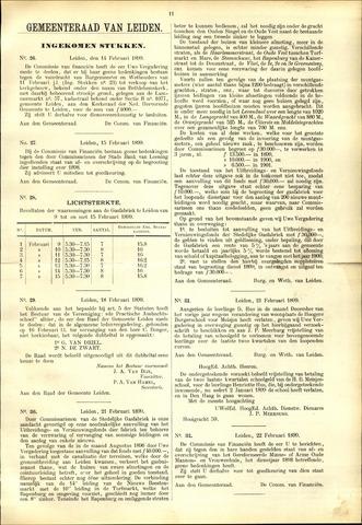 Handelingen van de Raad 1899-02-14