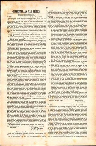 Handelingen van de Raad 1883-07-25