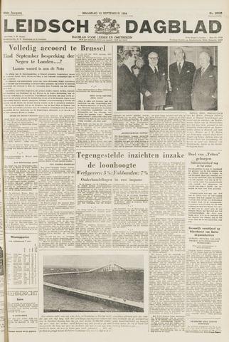 Leidsch Dagblad 1954-09-13