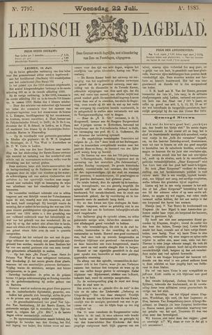 Leidsch Dagblad 1885-07-22