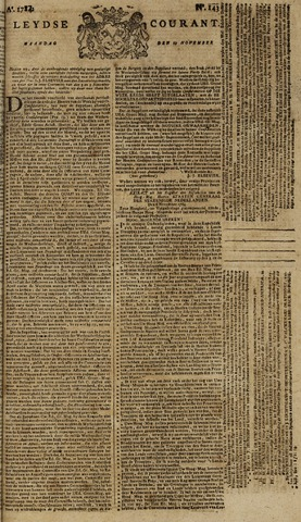 Leydse Courant 1784-11-29